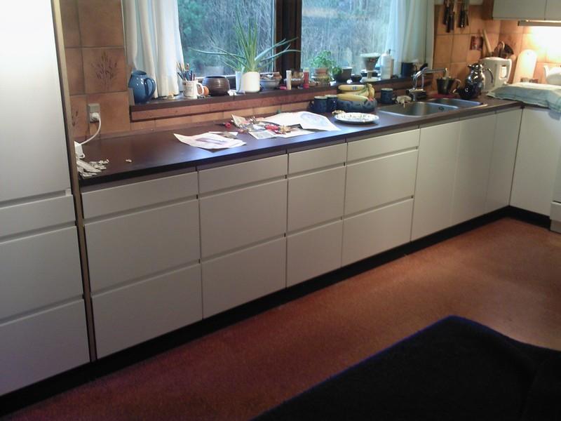 Nye låger til gammelt køkken
