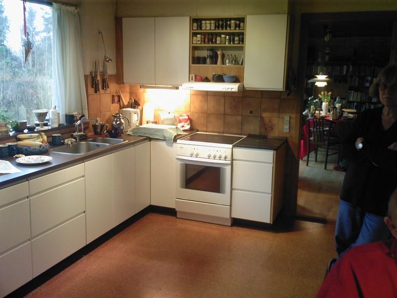 gammelt køkken nye låger